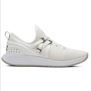 Size 9 Womens Under Armour UA Running Shoes White